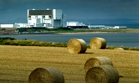 Torness nuclear power plant, East Lothian, Scotland