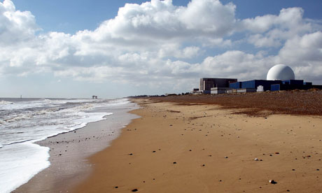 Sizewell nuclear power plant seen on the Suffolk coast, We