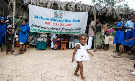 MDG : Vaccination : Activities for Africa Vaccination Week