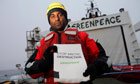 Greenpeace International Executive Director Kumi Naidoo and Cairn Energy's oil spill response plan