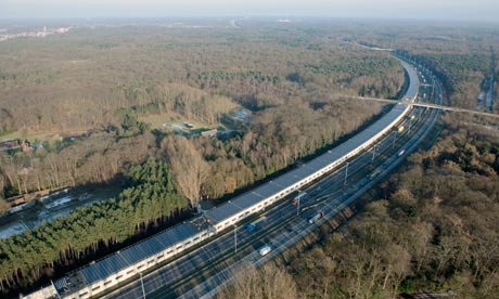 Enfinity in Belgium has completed the Antwerp solar rail tunnel