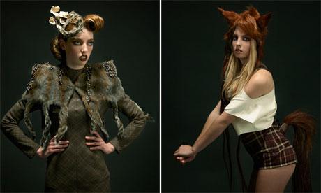 Green Living blog : Roadkill Couture by designer Jez Eaton
