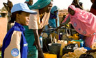MDG : UN women report : UN women Peacekeeper in Chad