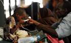 MDG : Famine in Somalia : local hospital in Mogadishu