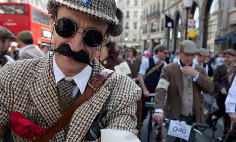 Bike blog : Gentleman cyclist : The Tweed Run