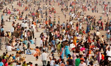Earth population reaching seven billion