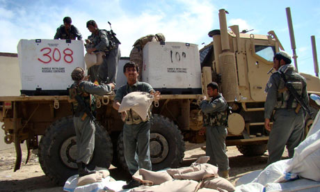 MDG :  Afghanistan US military and development