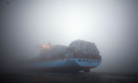 The container ship Marit Maersk