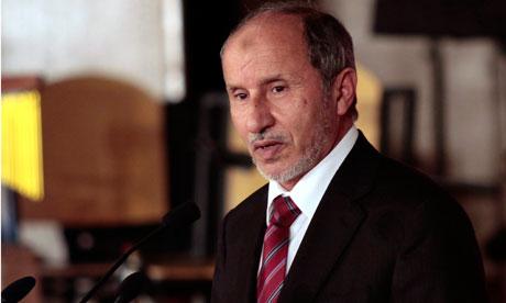 MDG : Chairman of Libya National Transitional Council (NTC), Mustafa Abdel Jalil