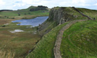Country Diary : Crag Lough and Adrian wall near Steel Rigg in Northumberland