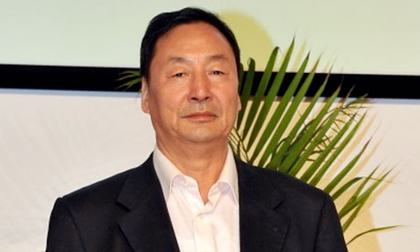 Former official and now environmental activist Liu Futang
