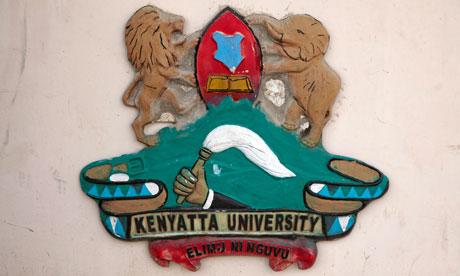 MDG : University in Dadaab : Coat of Arms of Kenyatta University, Nairobi, Kenya