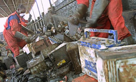 MDG : Toxic Industries  : Lead-Acid Battery Recycling in Kenya