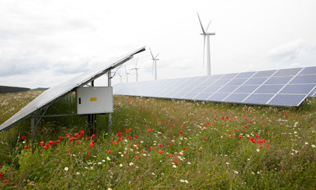 Westmill energy farm cooperative : wind turbines and solar panels community ownership