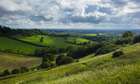 Country Diary : View from Creech Hill near Bruton, Somerset