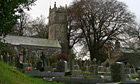 Country Diary : St Dominick Church , Tamar valley, Devon Cornwall border
