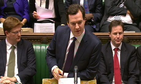 Chancellor of the Exchequer Georger Osborne delivers his Autumn Statement