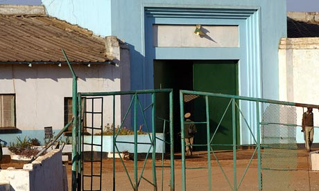 MDG : AIDS in Zambia :  Lusaka's central prison