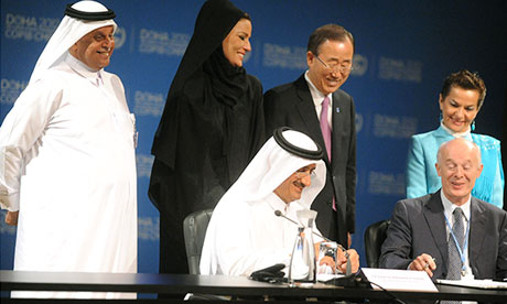 COP18 Doha : Qatar environmental policy , partnership with the Potsdam Institute
