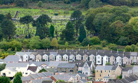 Country Diary :  cemetery of Aberfan
