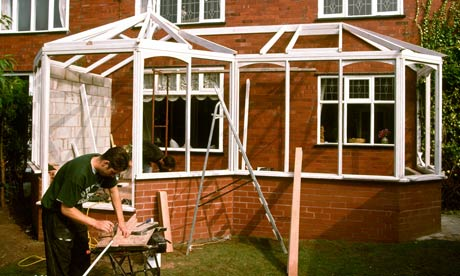 Green Home Improvements : building conservatory
