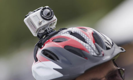 Bike Helmet Camera Helmet cam brings justice for
