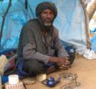 MDG : A Malian refugee in Niger, near  border with Mali : Bourema Hamadou