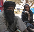 MDG : A Malian refugee in Niger, near  border with Mali : Mohammed Islamta