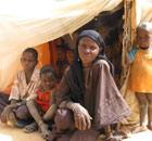 MDG : A Malian refugee in Niger, near  border with Mali : Raichatou Issaba