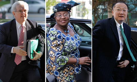 the three contenders for the world bank presidency photograph agencies