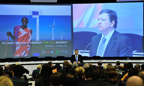 MDG : EU Sustainable Energy for All Summit : President of the EC José Manuel Barroso