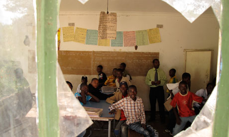 MDG : Zimbabwe : School at Dunstan Farm in Goromonzi
