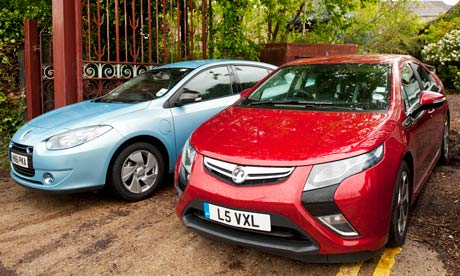 The new electric Vauxhall Ampera