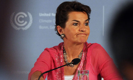 2012 Bonn climate talks , Christiana Figueres, Executive Secretary of UNFCCC