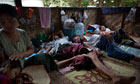 MDG : Burma Myanmar : Burmese HIV- AIDS patients in need of anti-retroviral therapy