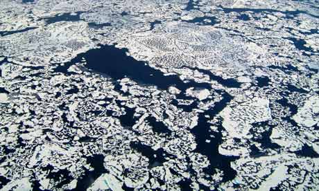 Big picture : Arctic ocean methane emissions