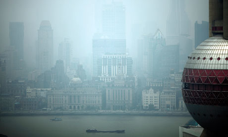 Air Pollution in Shanghai , China