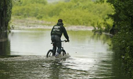 Bike blog : Cycling in the summer rain