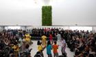 Rio+20 : Dilma Rousseff Inaugurates Pavillon Brazil