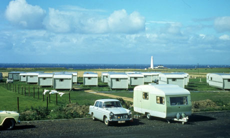 The Feather's Caravan Park, Whitley Bay, Tyne and Wear