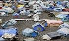 MDG : Climate refugees : German artist Hermann Josef Hack created the