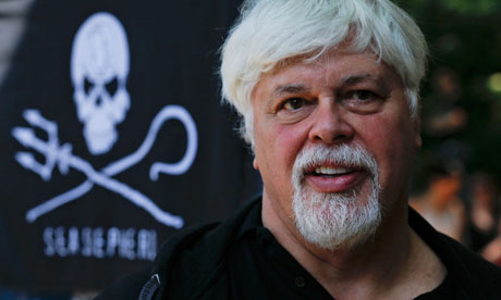 Paul Watson, founder and President of environmental group Sea Shepherd Conservation