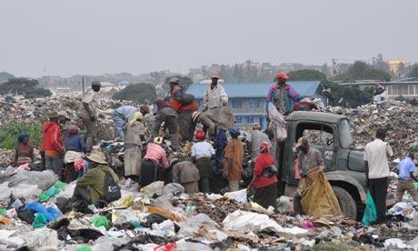 Dandora dump in Nairobi, Kenya