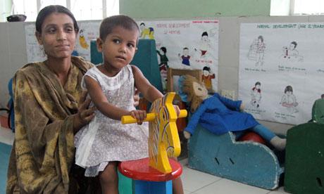 MDG : Bangladesh : cerebral palsy