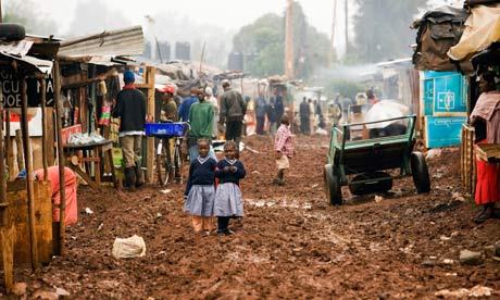 MDG : Kenya :  Deep Sea Slum - Nairobi