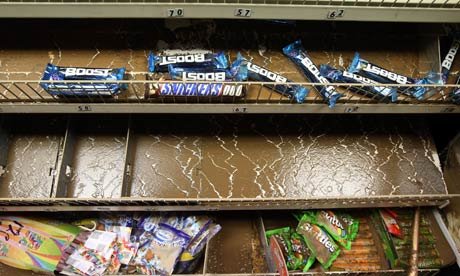Floods in a shop