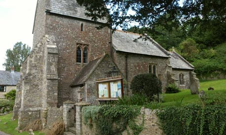 Country Diary :  Church of St Mary in Combpyne, Devon