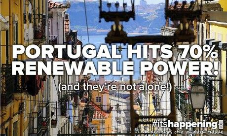 10:10 global its happening campaign : Renewable in Portugal
