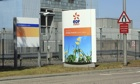 Hinkley Point nuclear power station managed by EDF, Somerset