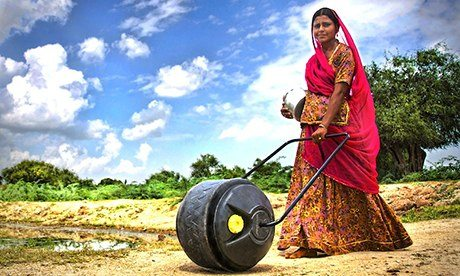 WaterWheel user in India